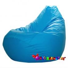 """Кресло-груша """"Голубая"""" (плотная)"""