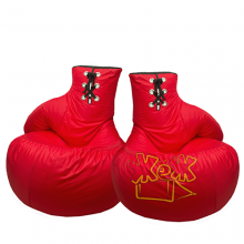 Пара кресел-Боксёрские перчатки «Red»
