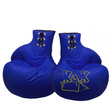 Пара кресел-Боксёрские перчатки «Blue»